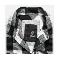 CAMISA CUADROS BLACK-WHITE BRANDIT