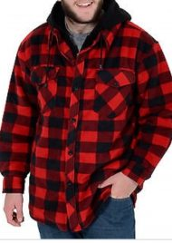 CHAQUETA CANADIAN WORKER RED