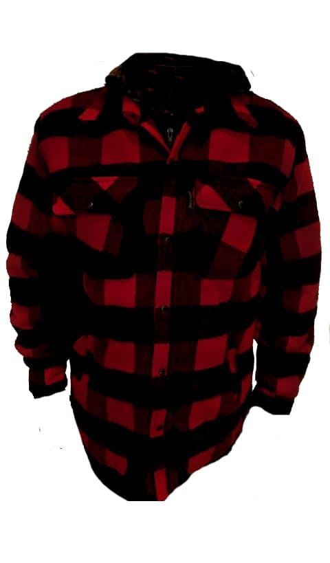 CHAQUETA CANADIAN WORKER RED 2020